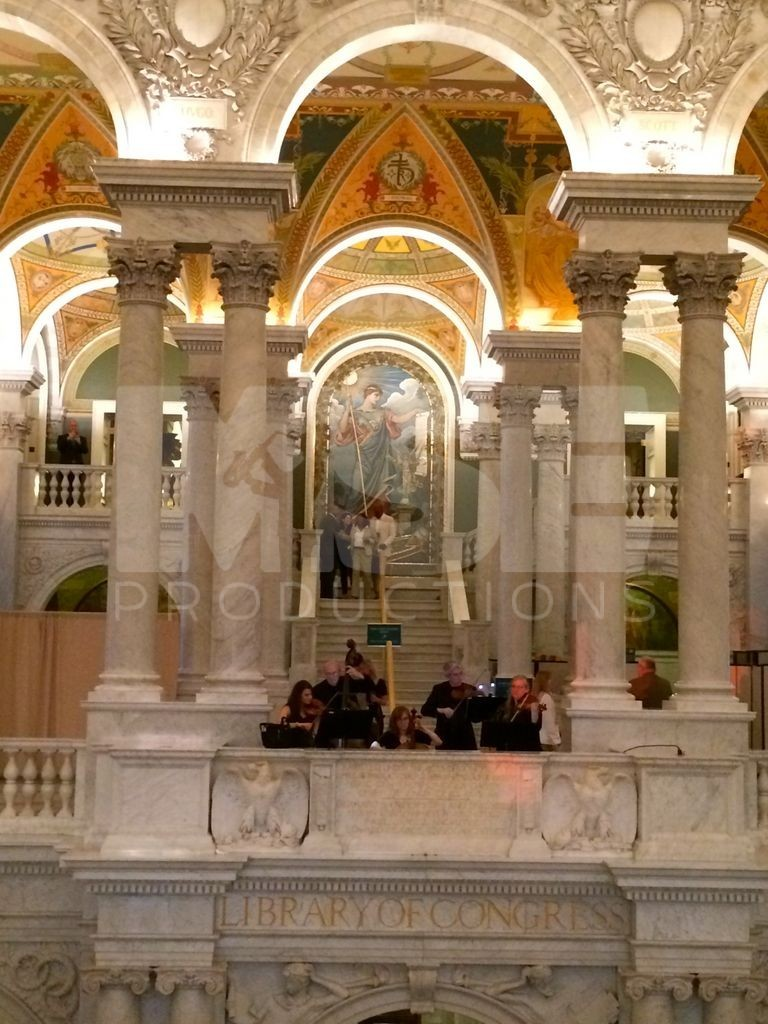 String Attack at the Library of Congress