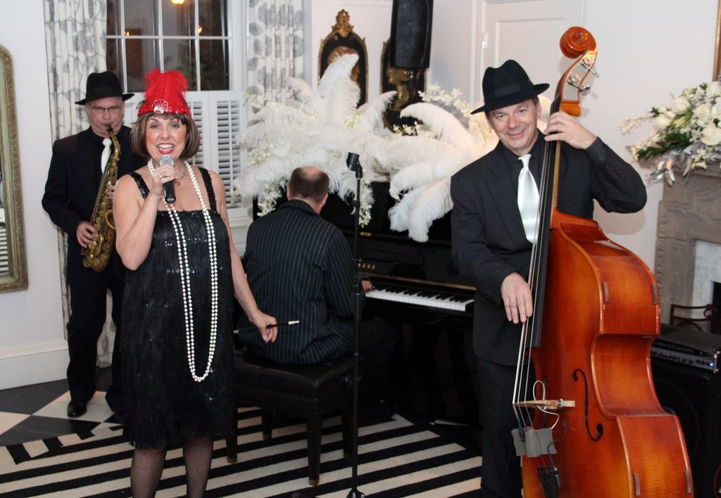 Speakeasy Band for 1920's Great Gatsby Theme Party