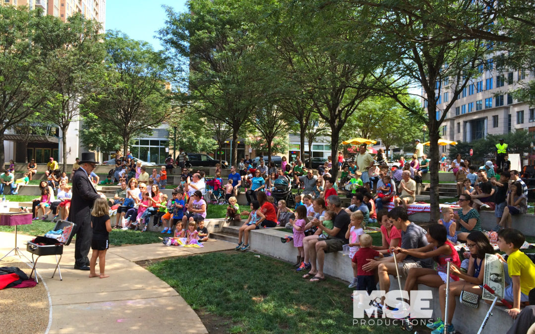 Family Fun Entertainment Series 2016 at Reston Town Square Park