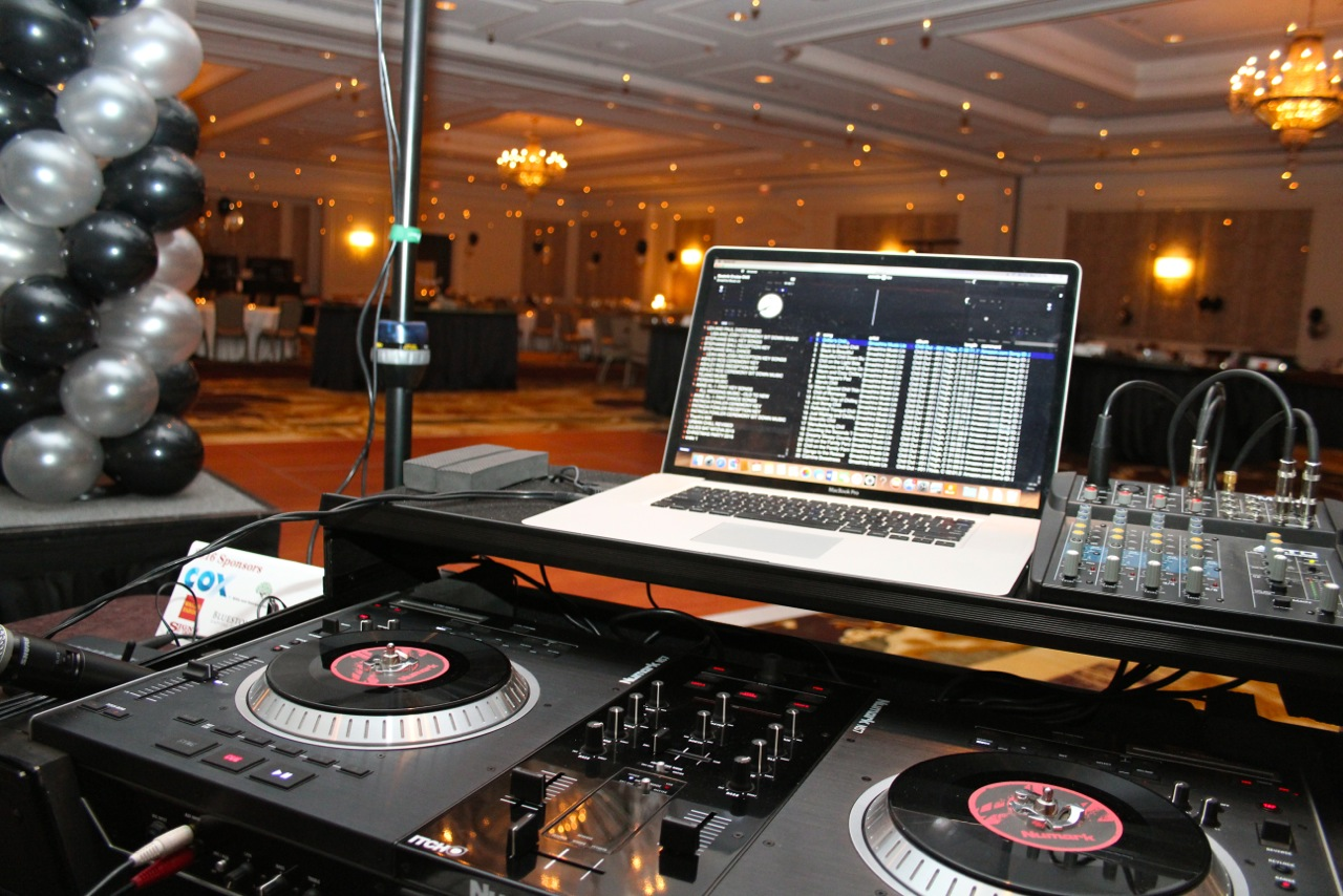 DJ Randy at the Ritz Carlton
