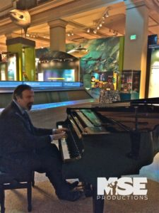 Beautiful solo piano music with pianist and piano provided by MSE Productions